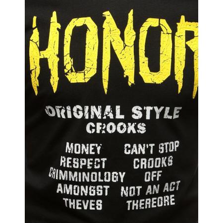 Pánské tričko s potiskem černé 330f0a66f5