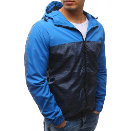 7f140cef2a Férfi tavaszi könnyű kapucnis kabát, világoskék | manCLOTHES.hu