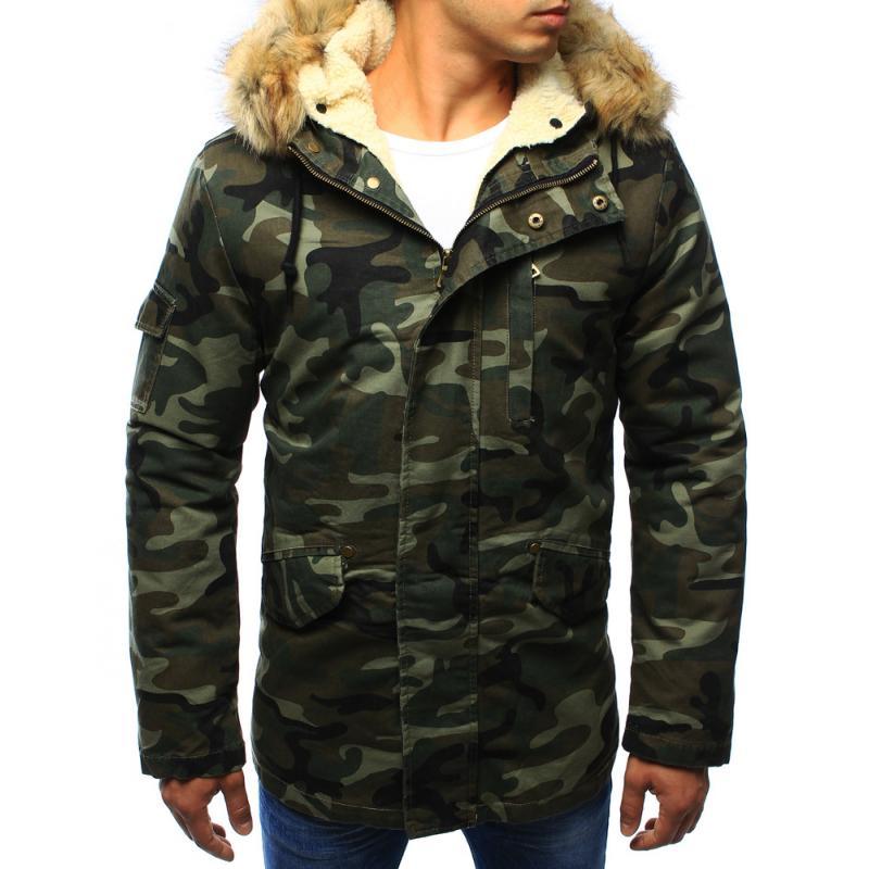 752f019da73f Férfi télikabát kabát erdei terep - terepszínű | manCLOTHES.hu