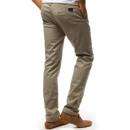 d659bee631bf Pánske STYLE chino nohavice cappuccino hnedá