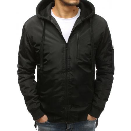 Pánska NEWSTYLE bunda bomber jacket čierna 6ccfcb6111f