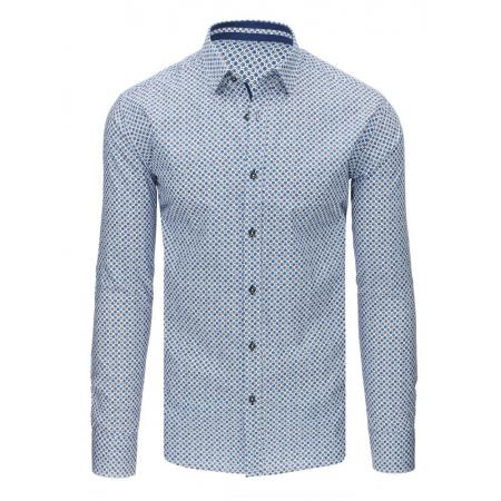 Pánské košile v barvě Modrá Modrá  3ea27eda70