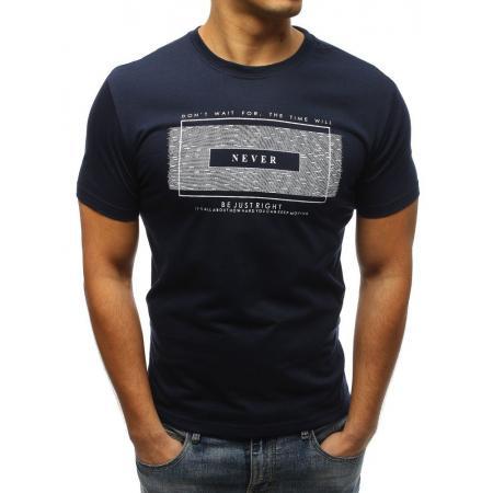 9141c3dbbc15 Pánske ORIGINAL tričko s potlačou modrej Pánske ORIGINAL tričko s potlačou  tmavo modré