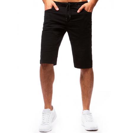5ea56201855 Pánské černé šortky STYLE