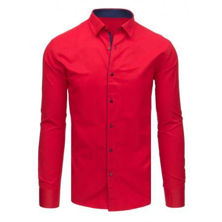 54728d2030a1 Pánska STYLE košeľa červená