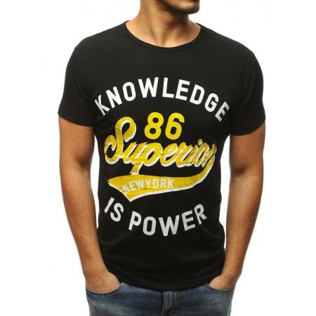 Pánská tričko CHOICE s potiskem černé ccb370dd6d