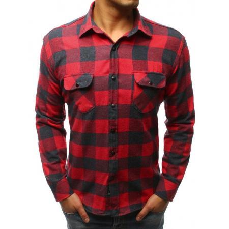 Férfi póló stílus csíkos kék-fekete Férfi póló stílus csíkos piros és kék 0467bb44bb