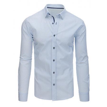63ec247d206 Pánská STYLE košile elegantní se vzory bílá