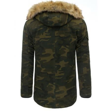 Férfi télikabát (téli kabát) - terepszínű 7b71804190