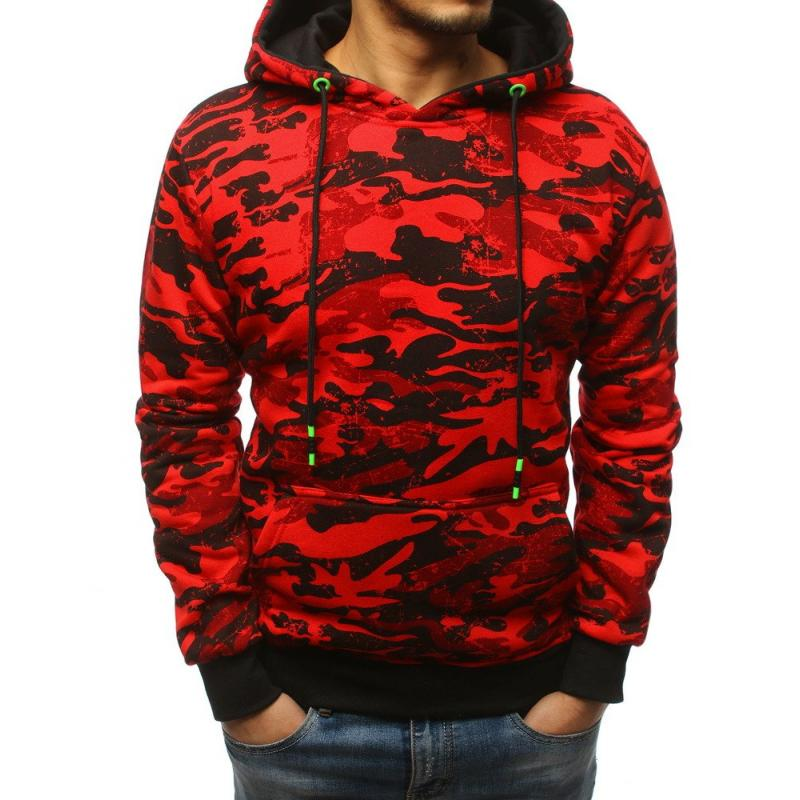 VÁLASZTÁS pulóver kapucnis piros  3b4e832602