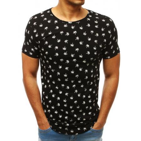 f9c1dcdb0c00 Pánske MODERN tričko s krátkym rukávom s potlačou czarny